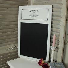 Bois blanc tableau noir avis chic rétro rustique cuisine café bistro