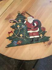 Weihnachtliches Blechschild