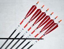 X6 83cm Aluminum Arrow Turkey Feather F Compound and Recurve Bow Archery Sports