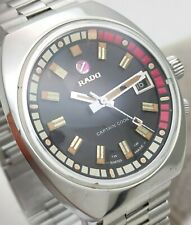 Vintage Rado Captain Cook MKII Ref. 11773 Stainless Steel Automatic Men's Watch