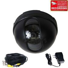 Security Camera w/ SONY CCD Indoor Wide Angle Dome CCTV Home Surveillance mis