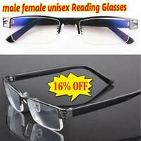 High Quality Unfolded Half frame Design Men&Women Reading Glasses +1.00 to +2.50