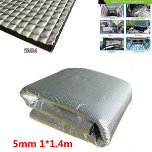 5mm Car Engine Door Heat Sound-Absorbing Pad Shield Noise Insulation Hood Mat