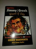 Farewell Jimmy the Greek Wizard of Odds SIGNED/Inscribed