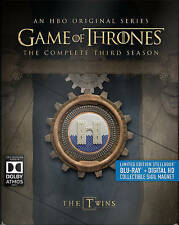 Game of Thrones: Season 3 (Blu-ray Disc, 2016, 5-Disc Set, SteelBook)