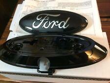 2004-14 Ford F150 rear camera emblem AND housing Gloss Black AL3Z-19H511-A,PAINT