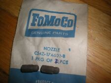 NOS 1965 FORD MUSTANG WINDSHIELD WIPER NOZZLES PAIR