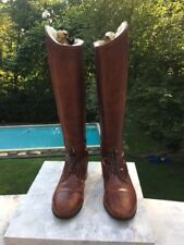 Vogel Custom Made Boots. Sheepskin lined to the toe. Size 6 1/2