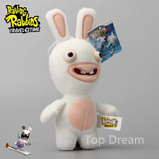 "CARTOON RAYMAN RAVING RABBIDS morbido peluche giocattolo STUFFED ANIMAL BAMBOLA 9"" TEDDY REGALO"