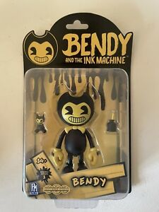 """Bendy And The Ink Machine YELLOW BENDY 5"""" Action Figure Series 2 New Sealed"""