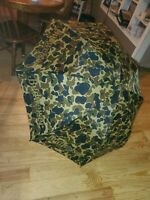 """Rare Vintage umbrella 52"""" Beer  Collectible Budweiser Camoflage Promotional"""