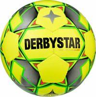 Derbystar Fußball Basic Pro S-Light Futsal gelb grau grün