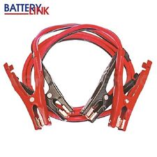 Jumper Leads 400 Amp 2.5m Insulated Clamps Booster Cables Suits Petrol & Diesel