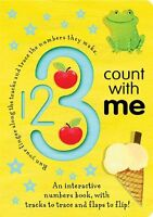 1 2 3 Count with Me (Trace-and-Flip Fun!) by Georgie Birkett