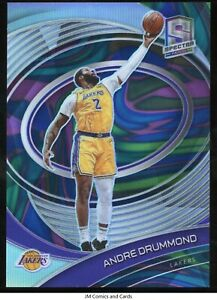 2020-21 Panini Spectra Marble #62 Andre Drummond /5