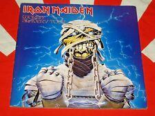 IRON MAIDEN WORLD SLAVERY TOUR 1985 JAPAN TOUR BOOK /PROGRAM Powerslave Tourbook