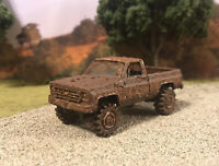 1978 Chevy K10 Square Body 4x4 Truck Custom 1/64 Diecast 4WD Mudder Mud Bog
