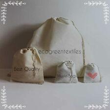 Muslin bags Choose any size 3x5, 4x6 , 5x7, 6x10 , 8x10, 8x12, 12x16 in inches