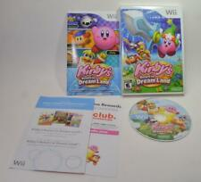 Kirby's Return to Dream Land Nintendo Wii game complete w/case,manual, cover,art