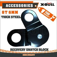 X-BULL Heavy Duty Recovery Pulley Winch Snatch Block - 8 Ton 16,000 lb 4WD