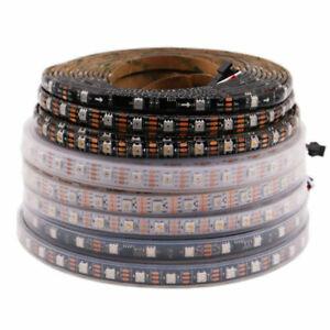 WS2811 WS2812B WS2813 WS2815 SK6812 APA102 30/60/144Leds/m RGB LED Strip DC5/12V