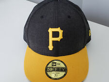 Pittsburgh Pirates New Era 59FIFTY Low Crown Fitted Hat 7 3/8