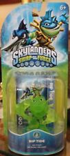 NIB Skylanders Swap Force Rare Chase Variant Translucent Clear Green Rip Tide