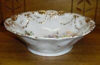 """Vintage JPF Jlmenau Porcelain Factory Ilmenau Germany Vegetable Bowl - 10 1/2"""""""