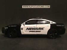 Newark Police NJ 1:24 Scale Custom Dodge Charger Police Car