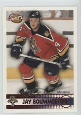 2002-03 Pacific Complete Red /100 Jay Bouwmeester #568 Rookie