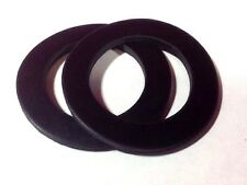 "1-1/4"" ROUND Rubber Water Meter Coupling Gaskets,1/8 thick (1 PAIR)"