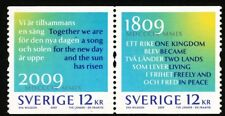 Sweden 2009 Two countries - one future.  MNH