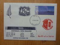 1993 BENSON & HEDGES AUST vs NEW ZEALAND CRICKET SERIES SOUVENIR  COVER- #2