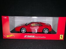 Ferrari F355 Berlinetta. Red. 1/18 Hot Wheels Die-Cast.