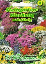 Steingarten Samen Mischung Staude Chrestensen Steingartenblumen Bienen Insekten