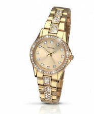 Gold Plated Case Women's Adult Dress/Formal Wristwatches