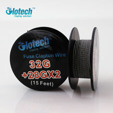 5m/roll 28G Fused Clapton Wire heating wire for RDA RBA Rebuildable vape Coil