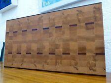 End Grain Cooking Chopping Board Butcher Block Hardwood, Handmade, Reversible #4