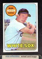 1969 Topps #363 Russ Nixon Chicago White Sox Vintage Baseball Card EX+