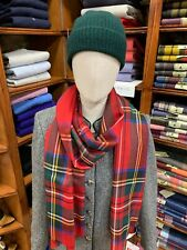 100% Pure New Wool Pashmina | Lochcarron | Made in Scotland | Royal Stewart