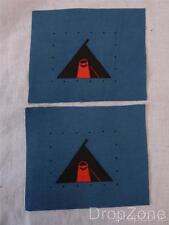 Paire SECONDE GUERRE MONDIALE Armée Britannique Formation Insignes Badges 59th