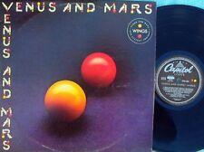 Wings Original OZ LP Venus & Mars EX 75 Paul McCartney With 2 Posters & Sticker