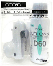 COPIC AIRBRUSH SYSTEM ABS-2 W/  AIR CAN D60