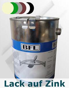 2,5Li Acryl-Lack direkt auf Zink Farbtgr.1 haftstark+dauerelastisch 33,70 €/Li