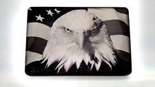 Eagle flag, ALUMINUM BILLET HITCH PLUG COVER 3x5