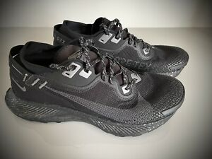 Nike Pegasus Trail 2 GORE-TEX Black Trainers UK 9.5 Pre Owned Pristine Condition