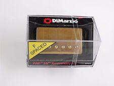 DiMarzio F-spaced PAF 36th Anniversary Bridge Humbucker W/Aged Gold Cover DP 223