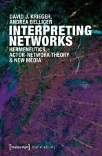 Interpreting Networks (Digital Society) - New Book Krieger, David J