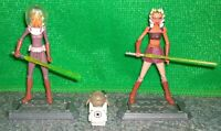 Star Wars Clone Wars Ahsoka Tano Figure Lot + Rotta The Hutt CW9 CW23 Space Gear