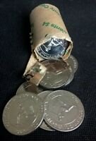 2001 20 CENT - SIR DONALD BRADMAN - EX SECURITY ROLL - UNCIRCULATED